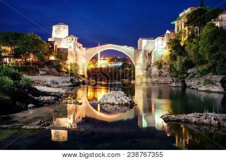 Stari Most, Mostar, Bosnia And Herzegovina