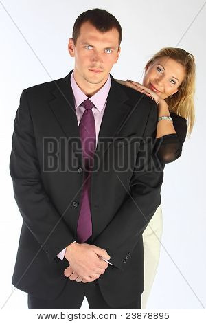 The bodyguard of the business woman