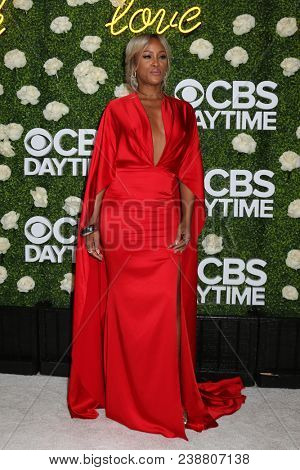 LOS ANGELES - APR 29:  Eve, Eve Jihan Jeffers at the CBS Daytime Emmy After Party at the Pasadena Convention Center on April 29, 2018 in Pasadena, CA