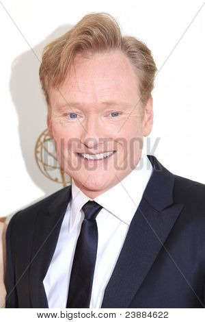LOS ANGELES - SEP 18: Conan O Brien at the 63rd Annual Primetime Emmy Awards held at Nokia Theater L.A. LIVE on September 18, 2011 in Los Angeles, California