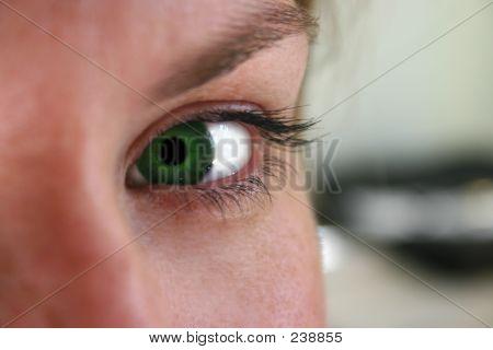 Envy Green Eye
