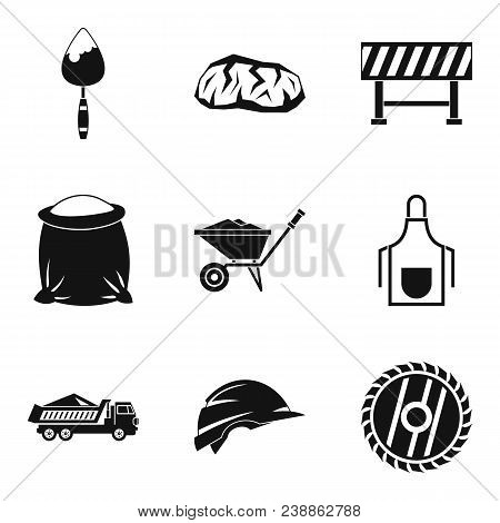 Occupation Icons Set. Simple Set Of 9 Occupation Vector Icons For Web Isolated On White Background