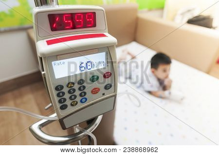 Ambulatory Infusion Pump Is Multi-therapy Medical Equipment For Hospital And Home Care Environments