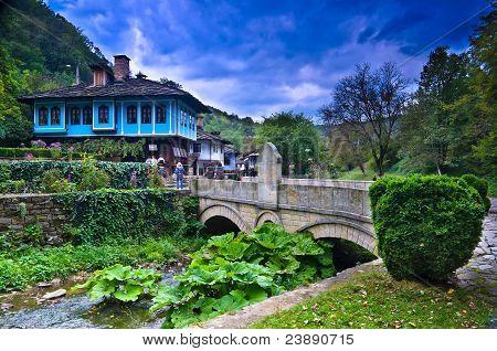 Old Houses in ethnographic complex Etara, Bulgaria