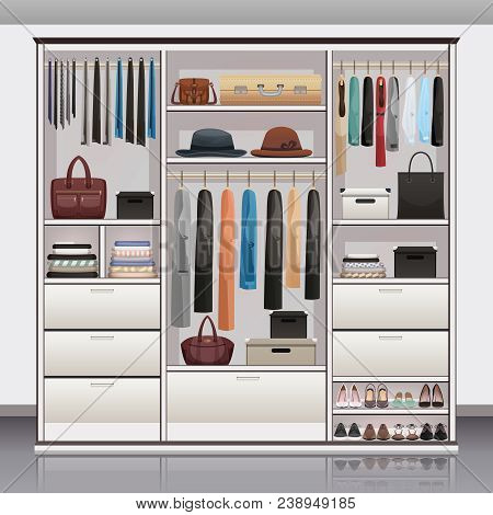 Wardrobe Accessories Storage With Drawers Organizers Shoe Racks Hanging Rails For Scarves Neck Ties