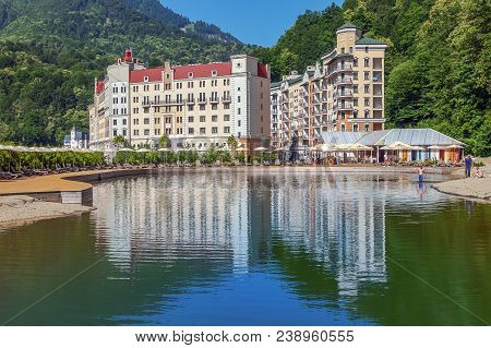 Rosa Khutor Is A Fashionable Resort, Democratic And Prestigious At The Same Time. The Resort Is Rate