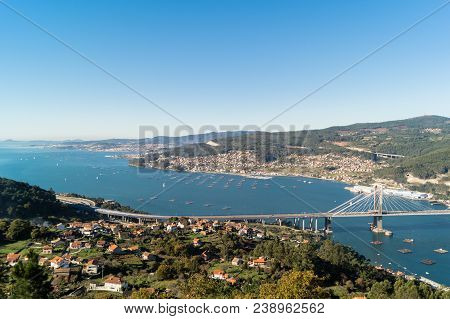 View Of Rande And Bay Of Vigo