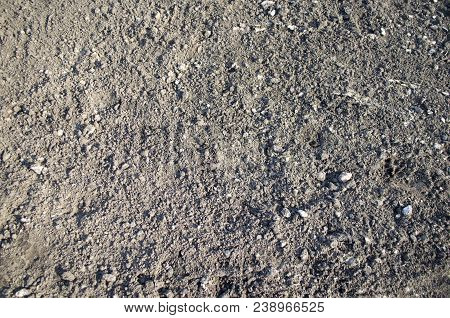 Black Soil, Soil Background, Soil Texture, Nature. Abstract Background Of The Soil. Earth, Earth Bac