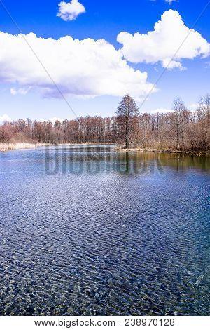 The Famed Blue Lakes Of Kazan: The Bolshoye Goluboye (big Blue) Lake, The Maloye Goluboye (small Blu