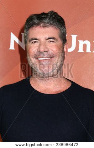 LOS ANGELES - MAY 2:  Simon Cowell at the NBCUniversal Summer Press Day at Universal Studios on May 2, 2018 in Universal City, CA