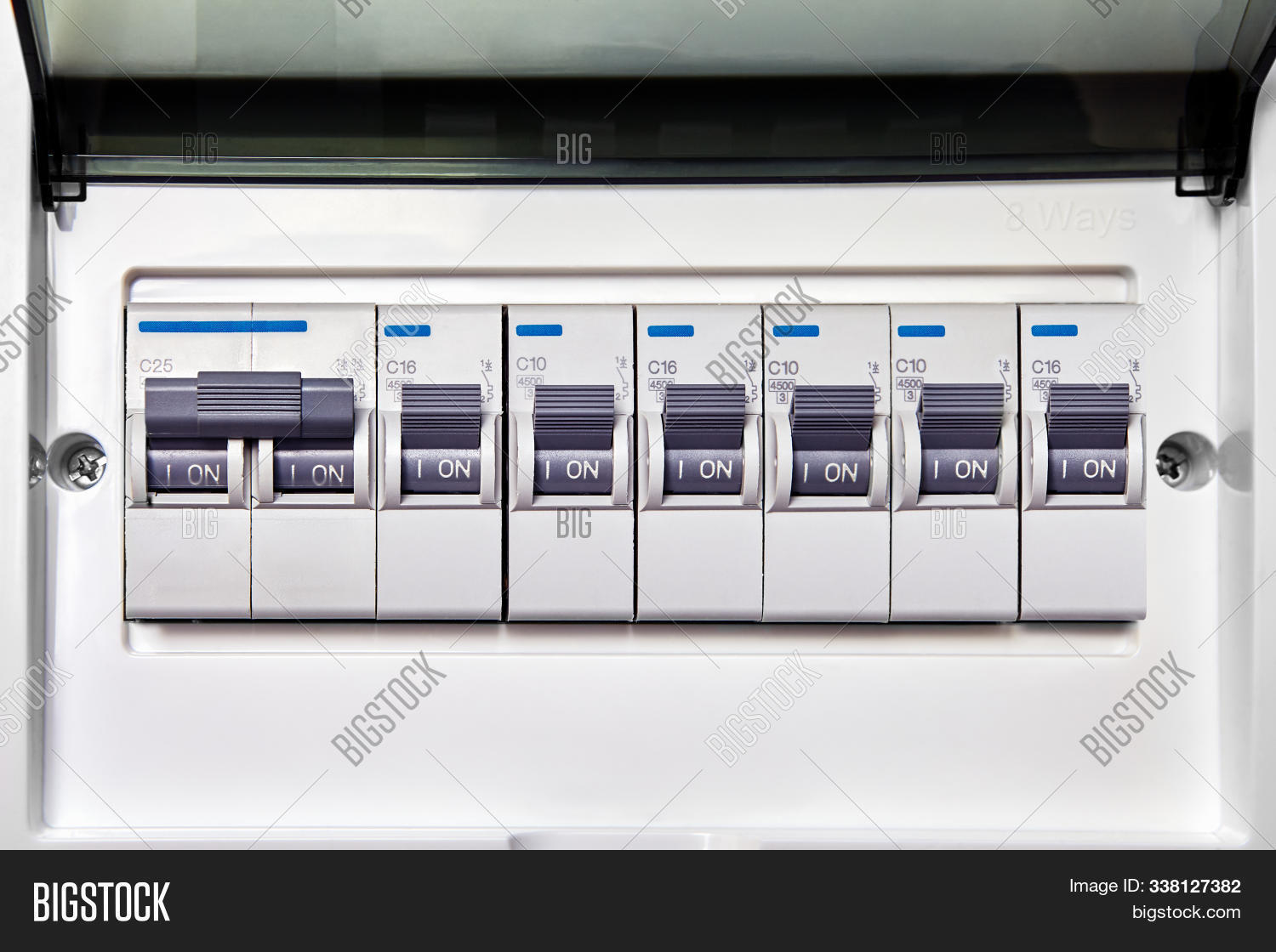 Electrical Panel Image Photo Free Trial Bigstock