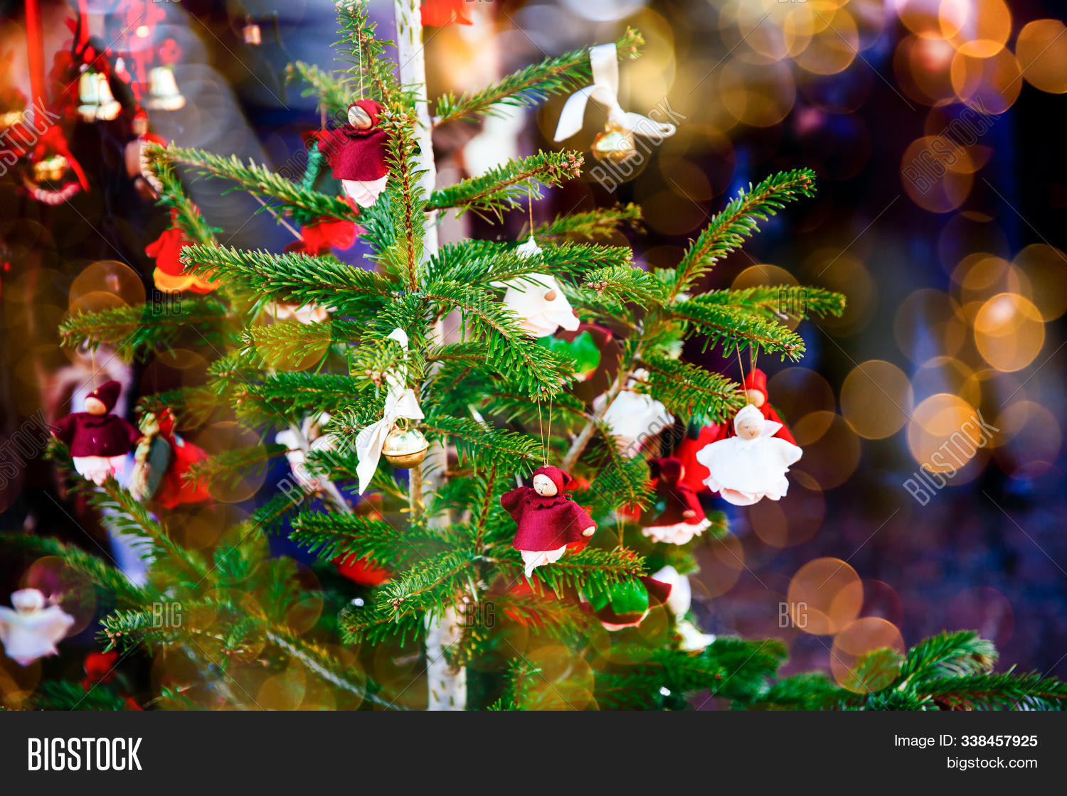 Colorful Christmas Image & Free Trial