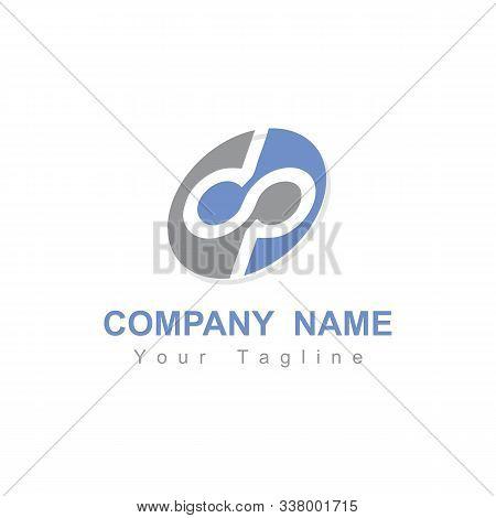 Dp, Dsp, Dop, Pd Initials Company Logo