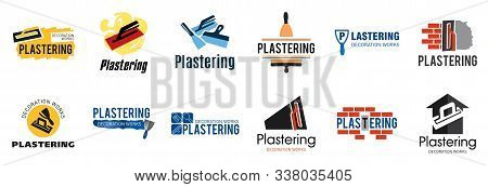 Vector Logo Of Finishing Company On Plaster