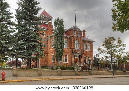 Prince Albert, Saskatchewan/canada - September 27: Prince Albert Arts Centre In Prince Albert, Saska