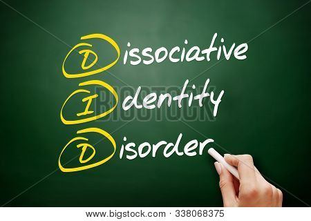 Did - Dissociative Identity Disorder Acronym, Health Concept Background