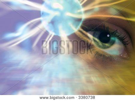 Surreal Eye Abstract