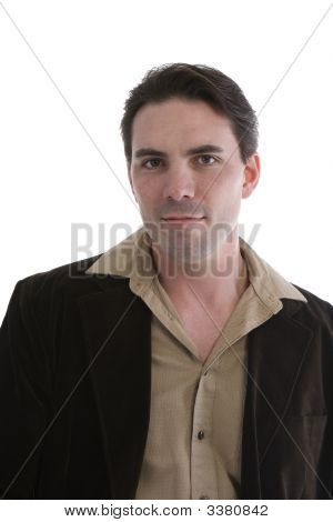 Male Model In Casual Clothes