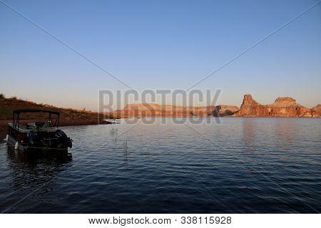 The National Treasure Lake Powell In Utah