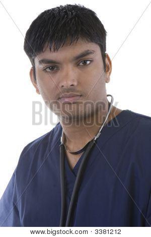 Male In Scrubs