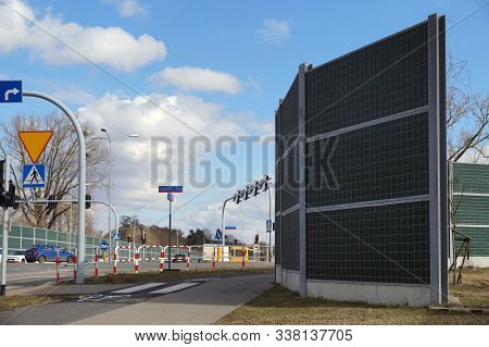 Protection Of Residents Against Noise Generated By Car Traffic. High Sound Absorbing Barriers In The