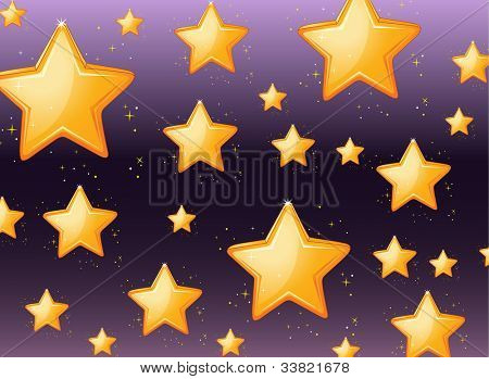 Illustration of a star background - EPS VECTOR format also available in my portfolio.