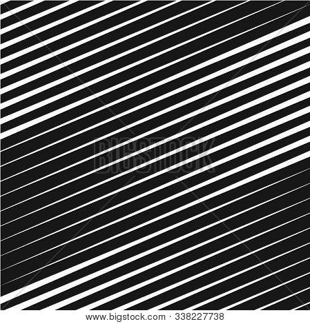 Oblique White Lines, Diagonal Lines Edgy Pattern