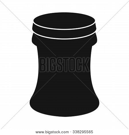 Vector Design Of Container And Soda Sign. Collection Of Container And Nonalcoholic Vector Icon For S