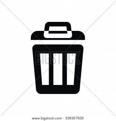 Trash Can Vector Icon Trash Can Vector Isolated On White Background, Trash Can Image, Trash Can Symb