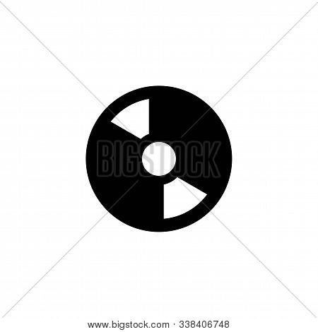 Compact Disk Icon Vector, In Trendy Flat Style Isolated On White Background. Cd Icon Image, Movie Ic