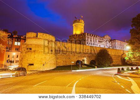 Buonconsiglio Castle Or Castello Del Buonconsiglio Is A Castle In Trento City In Trentino Alto Adige