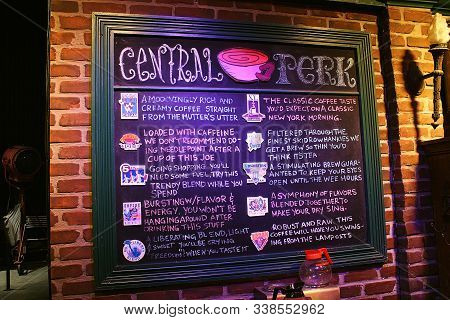 Central Perk cafe set from