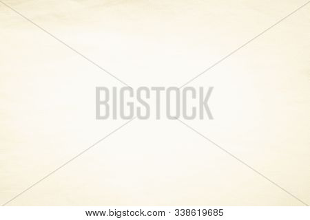 Cream Abstract Cotton Towel Mock Up Template Fabric On Background. Wallpaper Of Artistic Wale Linen
