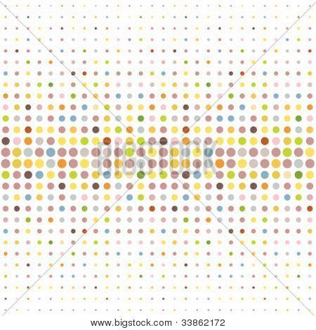 Fundo multicolorido dot
