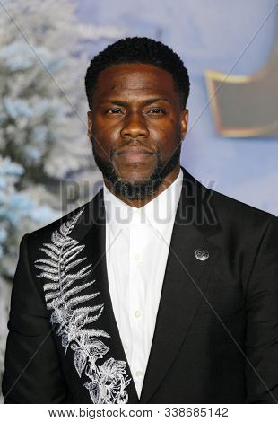 Kevin Hart at the World premiere of 'Jumanji: The Next Level' held at the TCL Chinese Theatre in Hollywood, USA on December 9, 2019.
