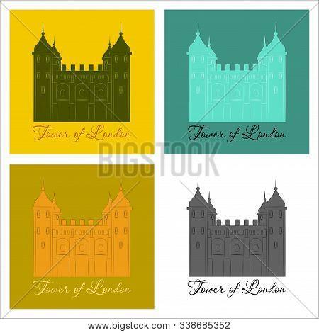 Gpo Tower, London Tower, Vector, London, Silhouette, Landmark,