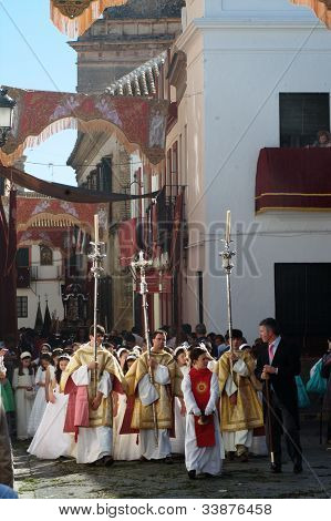Street ornaments for the Corpus Cristi procession 10