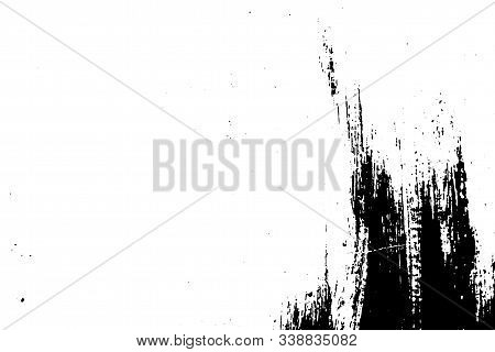 Vector Wood Texture. Abstract Background, Old Wooden Surface.