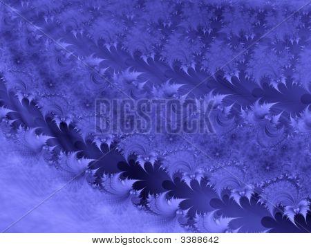 Floral Fractal Background