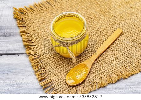 Pure Or Desi Ghee (ghi), Clarified Melted Butter