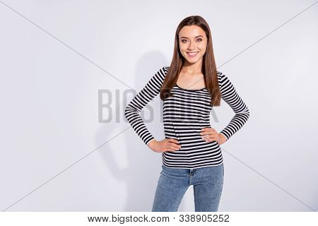 Portrait Of Her She Nice Attractive Winsome Shine Lovable Charming Cute Lovely Pretty Cheerful Cheer