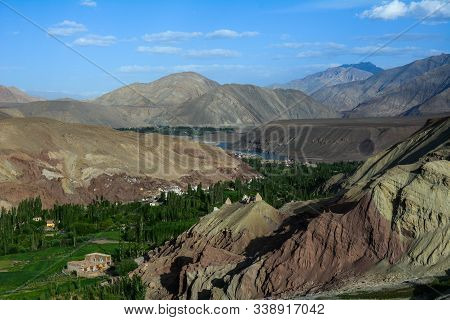 Mountain Scenery Of Ladakh, India