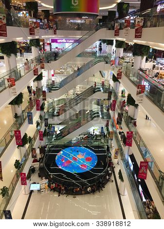 Saigon, Vietnam - Jun 12, 2019. Gigamall Shopping Mall In Saigon, Vietnam. Saigon (ho Chi Minh City)