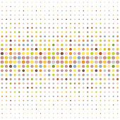 Multicolored dot background poster