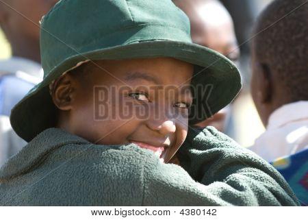 Schulmädchen in Simbabwe