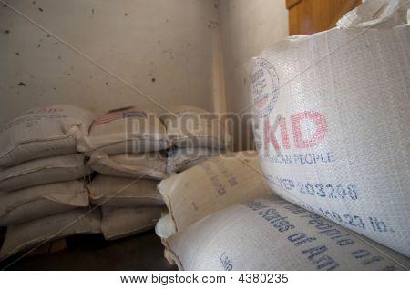 Nahrungsmittelhilfe in Simbabwe