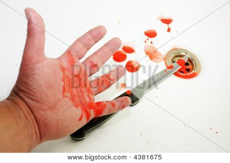 Blood And Hand
