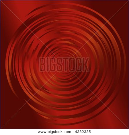 Red Swirl Background
