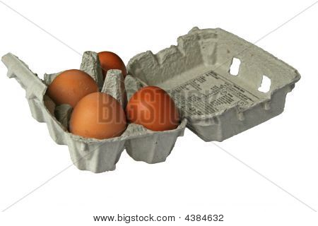 Eggs In Eggbox