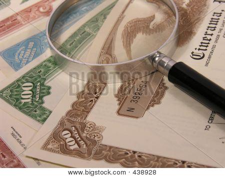Certificados de ações